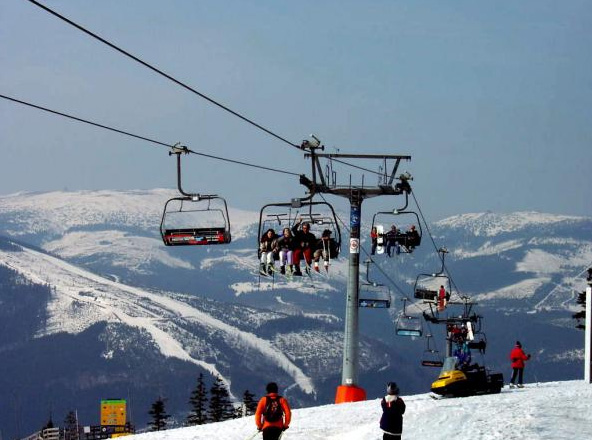 Spindleruv Mlyn Ski Resort